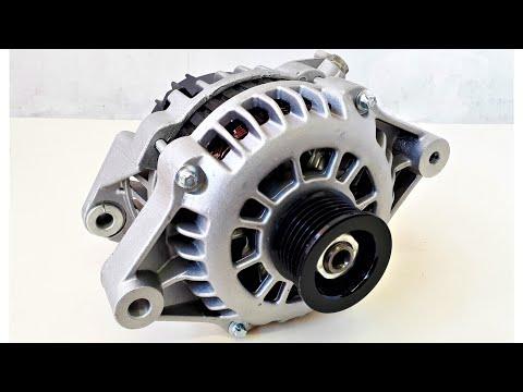 Como funciona el alternador y como usarlo de generador sin modificarlo, Recalibrando