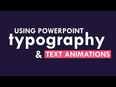 PowerPoint Animation Tutorial Kinetic Typography Part 02