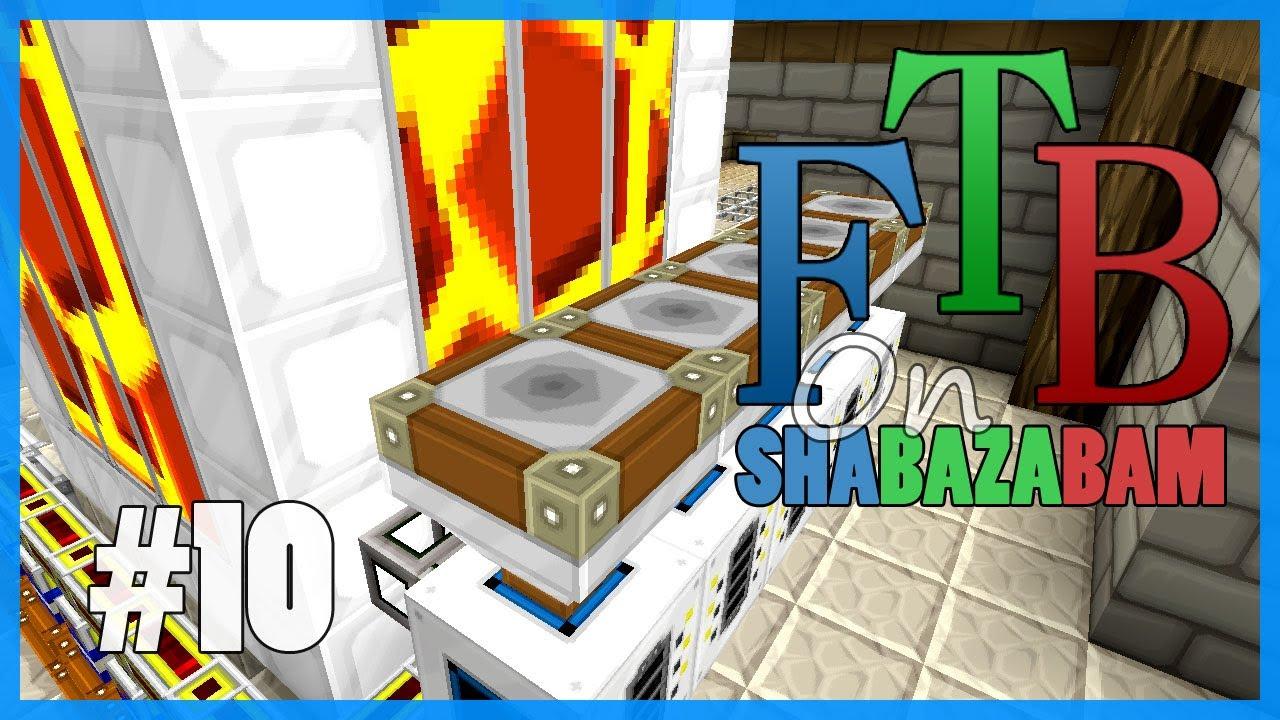 Minecraft FTB - Ep.10 - Making Lava & Industrial Blast ...