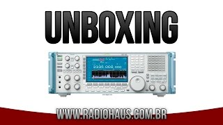 unboxing icom ic r9500