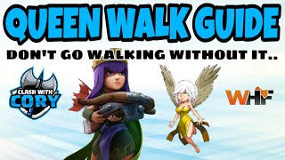 QUEEN WALK GUIDE TH10 - TH12, CLASH OF CLANS ATTACK STRATEGY TH10