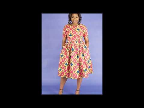 Rhema African Midi Dress