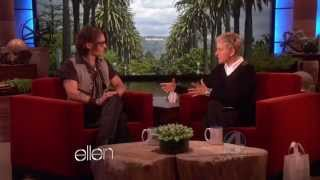 Download Johnny Depp on The Ellen DeGeneres Show - FULL INTERVIEW (2012/05/08) Mp3 and Videos