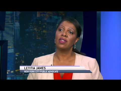 Public Advocate Letitia James On Her Agenda for NYC