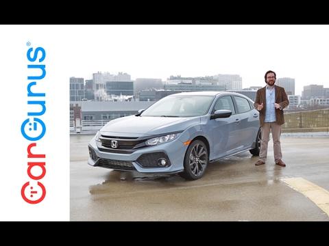 2017 Honda Civic Hatchback | CarGurus Test Drive Review