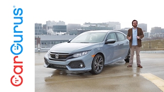 2017 Honda Civic Hatchback | CarGurus Test Drive Review