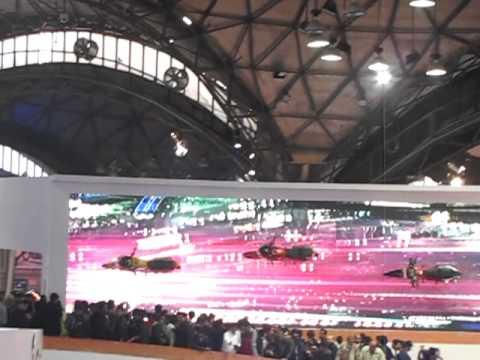 HERO at Delhi Auto Expo 2012
