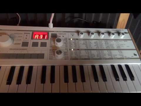 Korg Volca Keys + MicroKORG S arpeggios