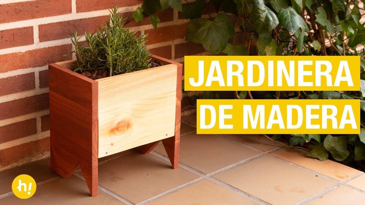 Jardinera De Madera Para La Terraza Handfie Diy