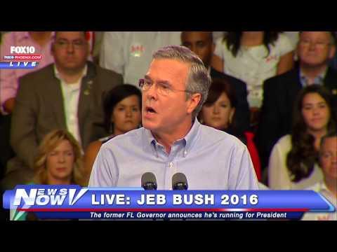 FNN: Jeb Bush Campaign Announcement