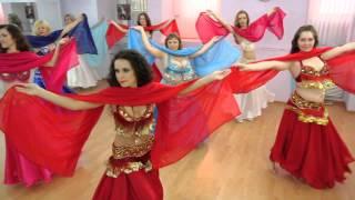 танец живота, восточные танцы, студия Elle danse