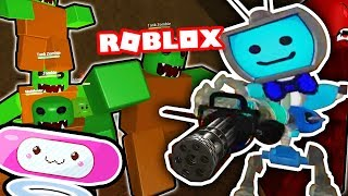 ZOMBIE ATTACK with Melody - Robots VS Zombies 2 (Roblox) ► Fandroid the Musical Song Robot!