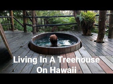 Living In A Treehouse On The Hawaii's Big Island! Mahinui Na Lani, Gopro Hero6 Black