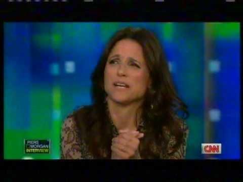 Julia LouisDreyfus  Craziest Funniest  EVER! CNN