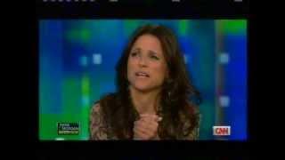 Julia Louis-Dreyfus - Craziest Funniest interview EVER! CNN