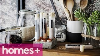 Diy Project: Copper And Concrete Spice Rack - Homes+