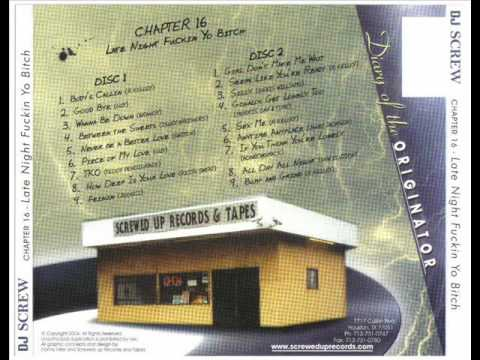 DJ Screw - Chapter 16 - Anytime Anyplace