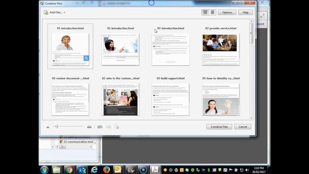 acrobat pro pdf to html