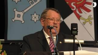 Grüße aus Südostpreußen: Heinrich Hoch (VdGEM) beim Jahrestreffen der Ostpreußen 2017 in Neuss