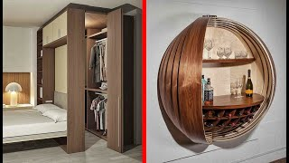 Incredible and Ingenious Hidden Rooms & Amazing Home Ideas !