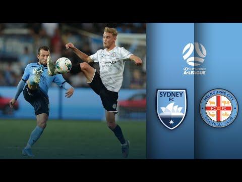 Sydney FC Vs Melbourne City   A-League Round 12