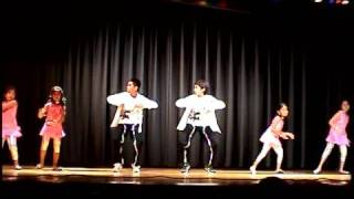 Raunak in Group Dance Omaha Rhythms of India 2008 Pappu cant dance