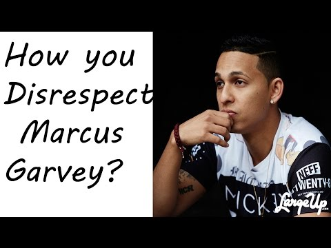 Dancehall Reggae Producer Rvssian disrespects Marcus Garvey