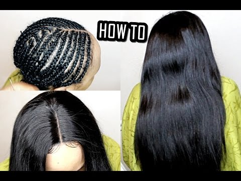 How to do full sew in weave no leave out tutorial beginners how to do full sew in weave no leave out tutorial beginners friendly pmusecretfo Images