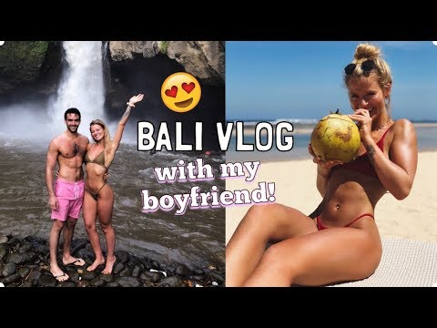 HOLIDAY VLOG WITH MY BOYFRIEND   WHAT WE DID IN BALI
