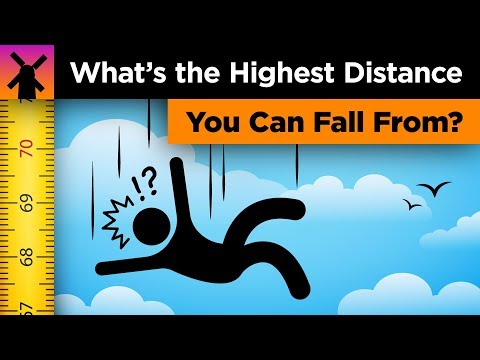 What's the Highest Distance You Can Possibly Fall From?