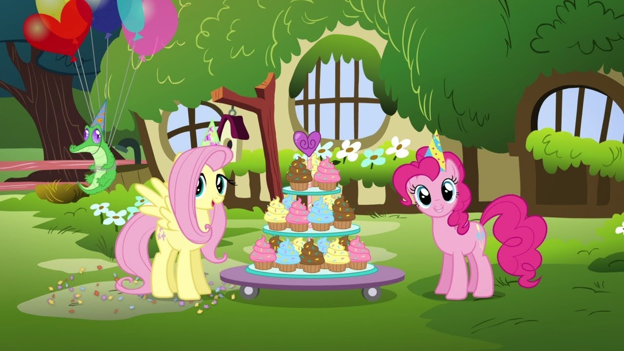 English My Little Pony Happy Birthday To You