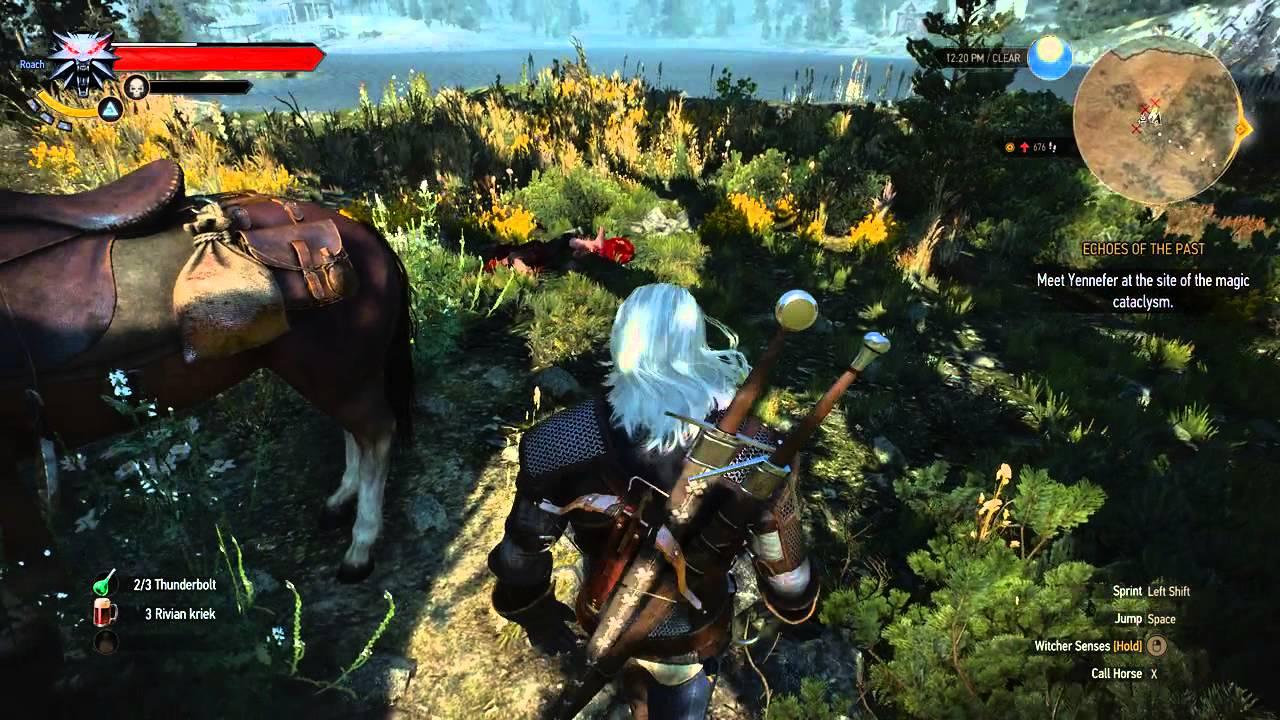 Witcher 3 Gameplay Freya Be Praised Hidden Treasure