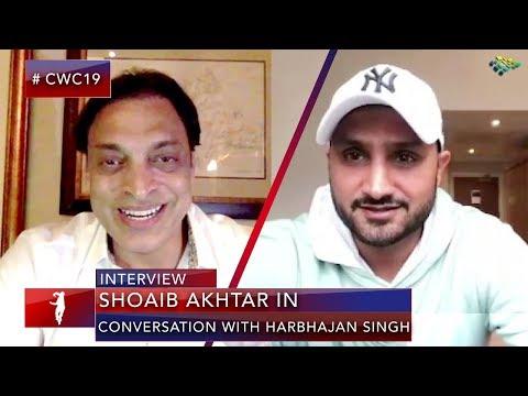 """Harbhajan Singh Taught me How to Bowl"" says Shoaib Akhtar | Pakistan vs India | World Cup 2019"