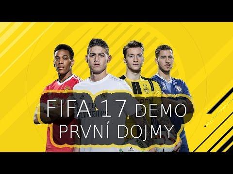 FIFA 17 CZ | DEMO | První dojmy - The Journey [LIVE]