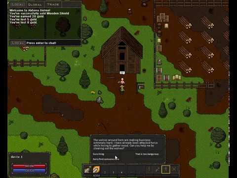 Aktena - Game Maker Studios MMORPG