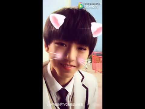 猫纹少年王俊凯_【TFBOYS】王俊凯猫纹笑蜜汁醉人【凯源 吉光片羽】 - YouTube