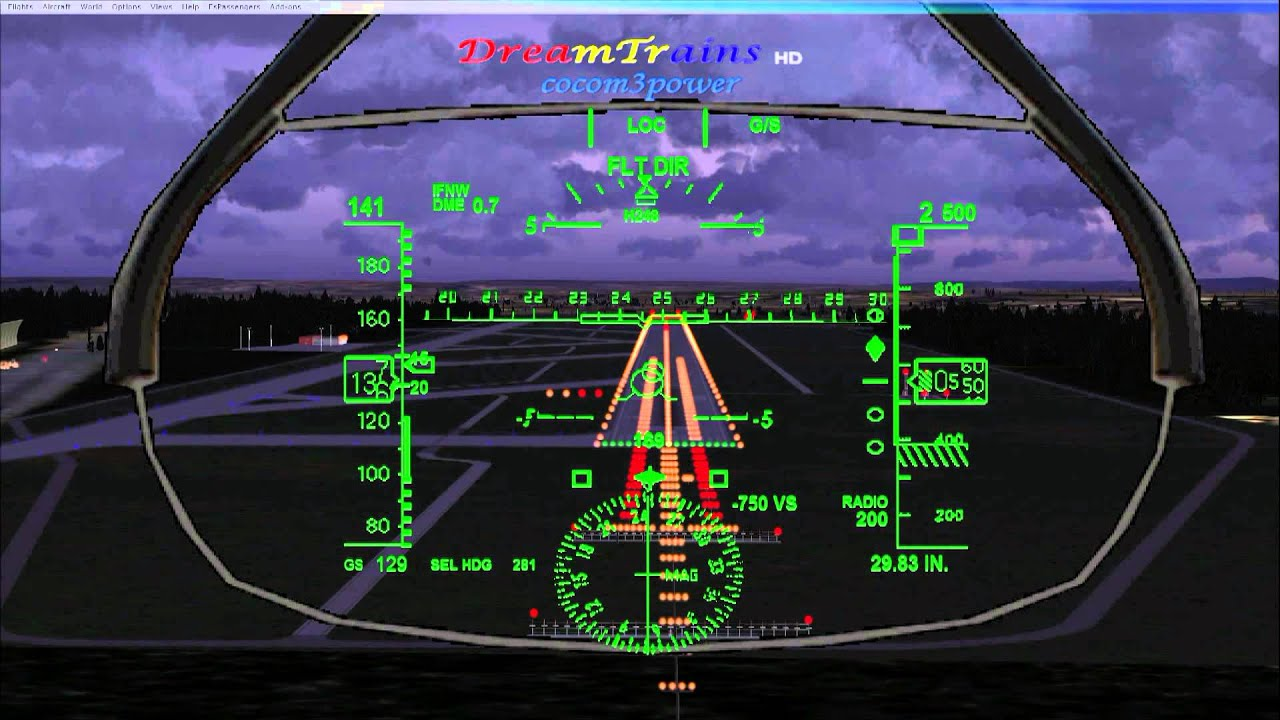 Cockpit Hd Wallpaper Fsx Aerosim Boeing 787 Thomson Evening Landing At