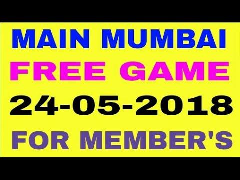 MUMBAI FREE GAME ||24-05-2018||