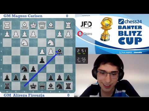Alireza Firouzja Vs. Magnus Carlsen | Banter Blitz Cup Final