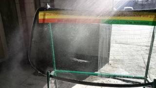 200 бар давления воды! на стекло под защитой антидождя
