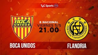 Boca Unidos vs Flandria full match