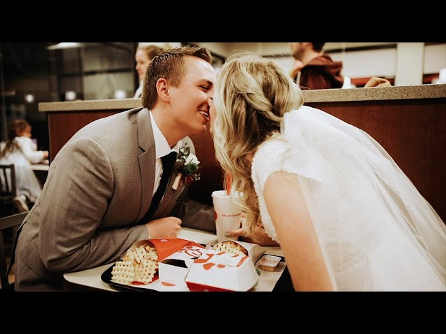 They Wrote Each Other Love Letters   Kassie + Braeden   Utah LDS Wedding   Payson Temple