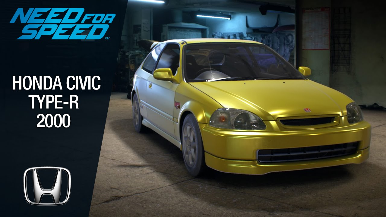 need for speed 2015 honda civic type r 2000 youtube. Black Bedroom Furniture Sets. Home Design Ideas