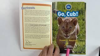 Go, Cub! / 내셔널 지오그래픽 키즈 원서 읽기