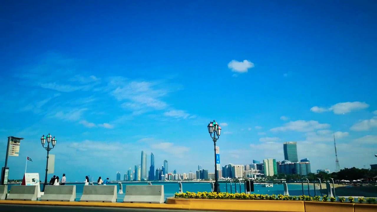 Best weather in Abu Dhabi | Drive with me in Abu Dhabi