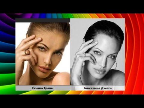 Видео: Анджелина Джоли Похожие Люди Знаменитости Звезды Актеры Двойники В Мире Фото Видео Сходства фильмы