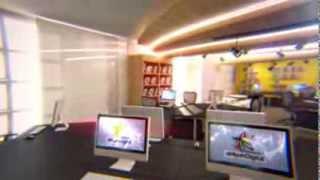 Misc Media Lab Design Flythrough