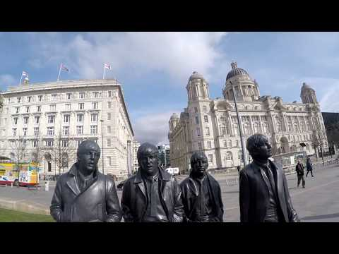 A walk around liverpool waterfront some sites and history