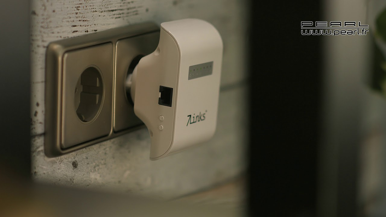 Px3757 repeteur wifi avec wps 600mbps youtube - Augmenter portee votre wifi avec repeteur ...