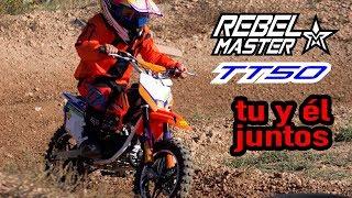 Rebel Master TT50 - Su primera moto. Minimoto de cross para niños.
